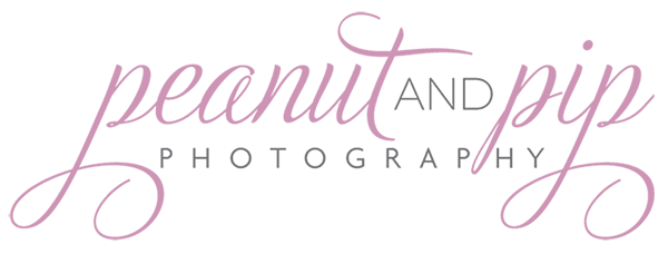 Peanut & Pip Photography Website logo
